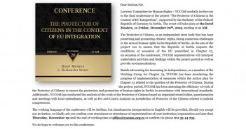 CONFERENCE – THE PROTECTOR OF CITIZENS IN THE CONTEXT OF EU INTEGRATION
