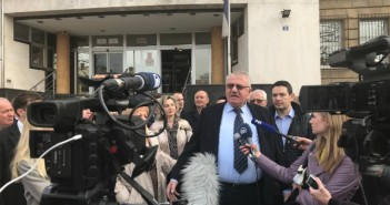 Seselj in front of the Higher Court BIRN 640
