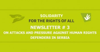 Newsletter # 3 On Attacks And Pressure Against Human Rights Defenders